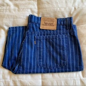 Rare Vintage Plus Size Orange Tab Levi's Shorts